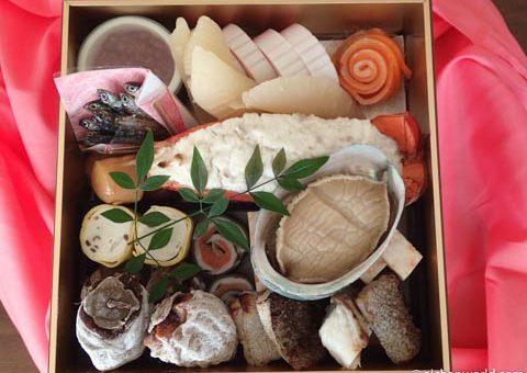 恒例、京樽のおせち