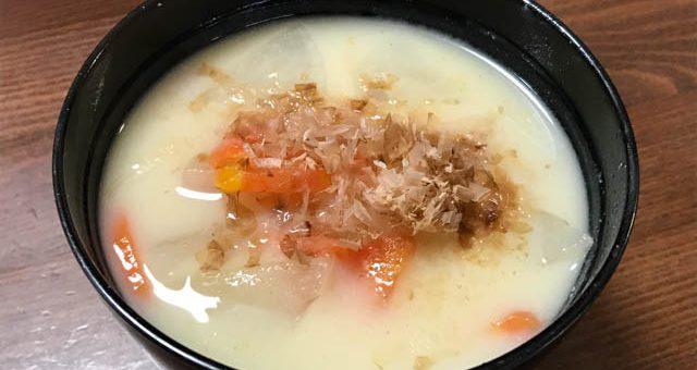 京風白味噌雑煮