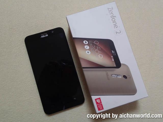安いけど使えるZenFone 2 ZE551ML GD32S4