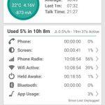 ZenFone 2 ZE551ML-GD32S4のスタンバイバッテリー消費
