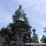 金沢旅行情報:兼六園内の日本武尊像