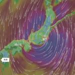 最強かもしれない台風情報、windy.com
