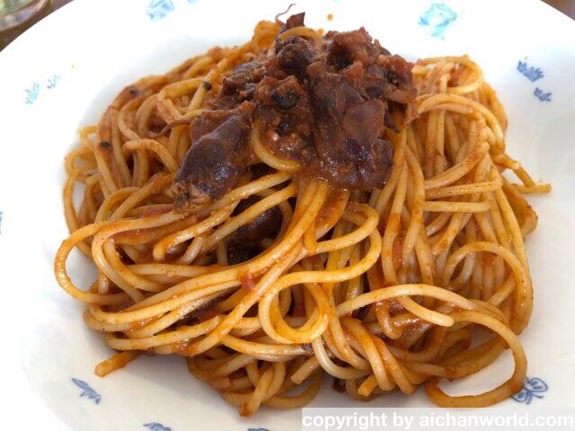 ほたるいかのスパゲティ