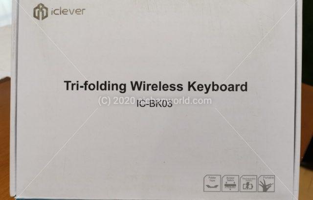 icleverの三つ折りキーボード、二つ折りキーボード比較レビュー、ついでにJETechの三つ折りキーボードも