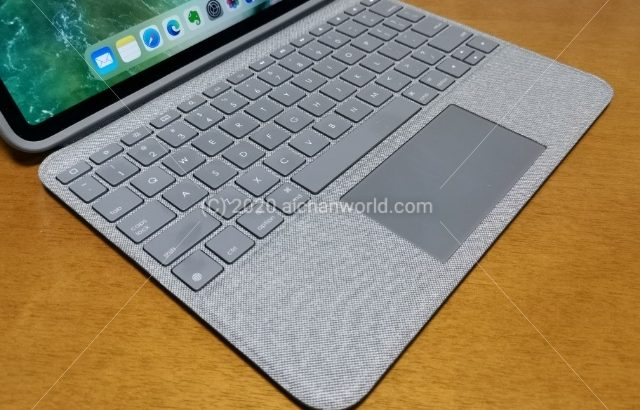 iPad ProをPC/Mac的に使う!Logicool Folio Touch for iPad Pro 11-inchの実機レビュー!