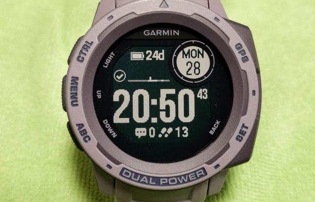 Apple Watchは子供の玩具だ!ソーラー充電最長54日駆動のタフネススマートウォッチ GARMIN Instinct Dual Power