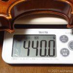 エレクトリックバイオリンに興味があるのですが重くない?という方への情報