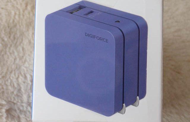 WindowsノートPC・MacBook・iPad・Chromebook・iPhone・AndroidなんでもOK、2ポート対応 DIGIFORCE 65W PD充電器!