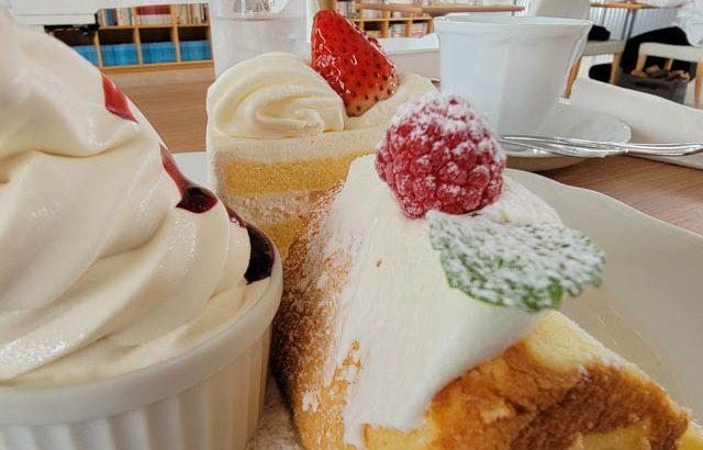 北菓楼札幌本館のケーキセットと食事