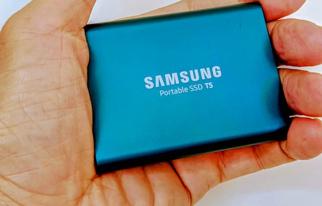 Galaxy S21 Ultra 5Gに外部SSDを繋ぐ